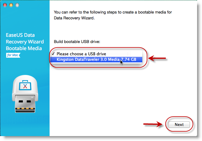 data recovery usb flash drive mac