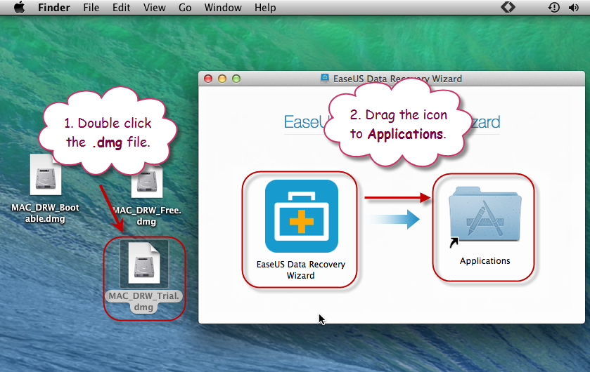 How to Insall and Activate EaseUS Software for Mac