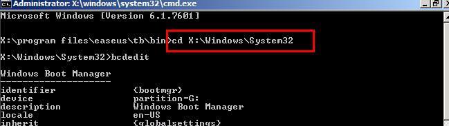 Modify the boot settings